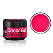 UV/LED Décor Gel - Hot Pink 03