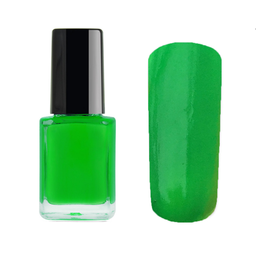 neon grøn neglelak