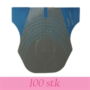 Negleform til smalle fingre/negle - 100 stk