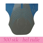 Negleform til smalle fingre/negle - 500 stk