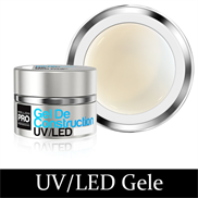 UV/LED Building Gele - Snowy White 07, 15 ml