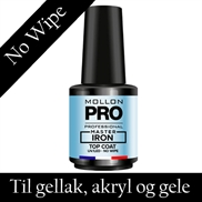 UV og LED top coat til gele og gellak