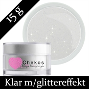Chekos diamond touch klar finish glittergele