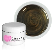 Chekos Metallic UV gele -  Bronze