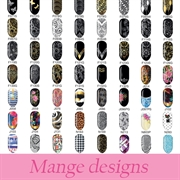 MOLLON PRO Nail Art Stickers - 80 Designs