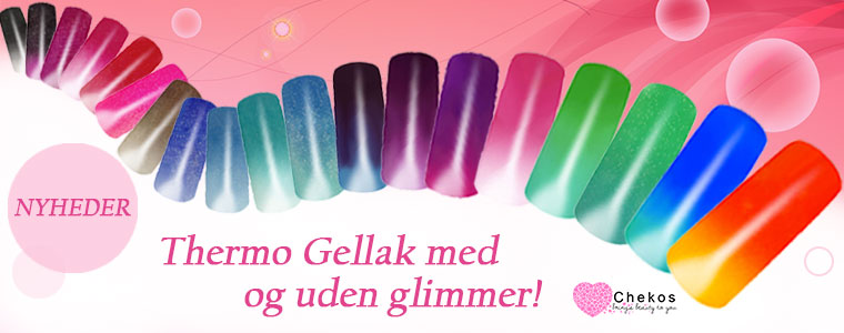 Thermo Gellak/Gel Polish til nemme negle