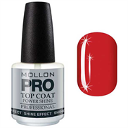 MOLLON PRO Power Shine Top Coat - 15 ml.