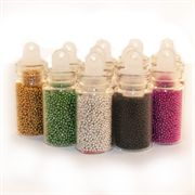 Nailart beads 12 stk ca 0,5 mm