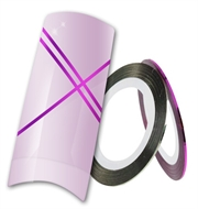 Nailart striping tape - Lilla metallic